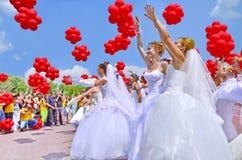 Día de fiesta de novias Foto de archivo
