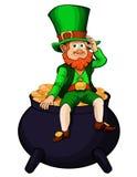 Día de fiesta de St Patrick stock de ilustración