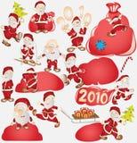 Día de fiesta del Año Nuevo de Santa ilustración del vector