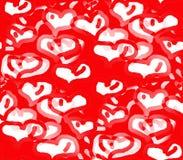 Día de fiesta del amor y del corazón Foto de archivo libre de regalías