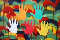 Día de fiesta del color. Fotos de archivo