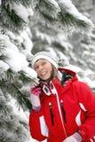 Día de fiesta del esquí Fotos de archivo
