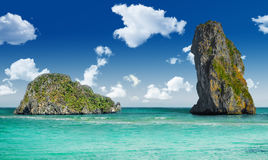 Día de fiesta del sueño de Tailandia en una ubicación exótica Imágenes de archivo libres de regalías