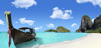 Día de fiesta del sueño de Tailandia en una ubicación exótica Fotos de archivo libres de regalías