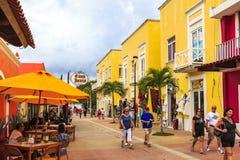 Día de fiesta en Cozumel fotos de archivo