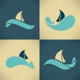 Día de fiesta en el agua libre illustration