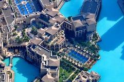 Día de fiesta en el hotel de Dubai foto de archivo libre de regalías