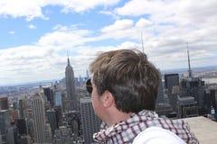 Día de fiesta en el top de Nueva York Imagenes de archivo