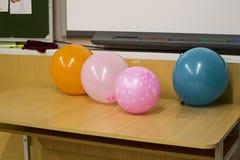 Día de fiesta en la escuela Fotos de archivo libres de regalías