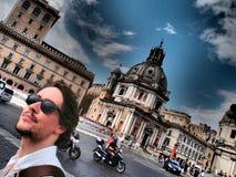 Día de fiesta en Roma Imagen de archivo
