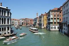 Día de fiesta en Venecia Fotos de archivo libres de regalías