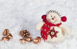 Día de fiesta hermoso de la Navidad fotografía de archivo