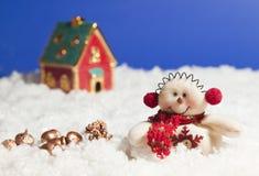 Día de fiesta hermoso de la Navidad fotos de archivo