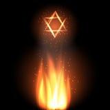 Día de fiesta judío del retraso Baomer ilustración del vector