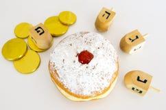 Día de fiesta judío Hanukkah imagenes de archivo