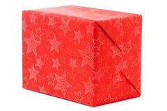 Día de fiesta de la Navidad de la Feliz Año Nuevo del boxe de los regalos Foto de archivo