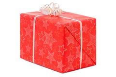 Día de fiesta de la Navidad de la Feliz Año Nuevo del boxe de los regalos Fotografía de archivo libre de regalías