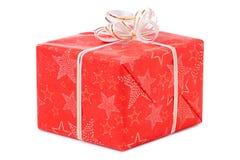 Día de fiesta de la Navidad de la Feliz Año Nuevo del boxe de los regalos Fotos de archivo libres de regalías