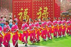Día de fiesta magnífico en el Año Nuevo chino Fotos de archivo