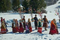 Día de fiesta ortodoxo religioso Fotografía de archivo libre de regalías