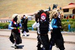 Día de fiesta religioso en Perú Imagen de archivo libre de regalías