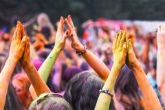 Día de fiesta tradicional de Holi de la India Foto de archivo