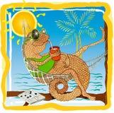Día de fiesta tropical imagen de archivo libre de regalías