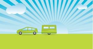 Día de fiesta verde Imagen de archivo libre de regalías