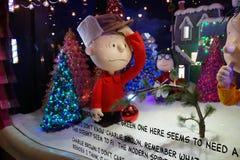 Día de fiesta Windows 2015 de Macy: La cuadrilla 12 de los cacahuetes Fotografía de archivo libre de regalías