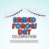 Día de fuerzas armadas de arma libre illustration