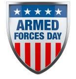 Día de fuerzas armadas de arma los E.E.U.U. ilustración del vector