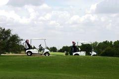 Día de golf Imágenes de archivo libres de regalías