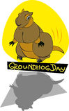 Día de Groundhog Foto de archivo