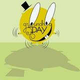 Día de Groundhog Imagenes de archivo