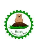Día de Groundhog Fotos de archivo libres de regalías