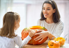 Día de Halloween Imágenes de archivo libres de regalías