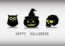 Día de Halloween, fantasma de la calabaza Foto de archivo