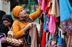Día de Hijab del mundo en Manila Imágenes de archivo libres de regalías
