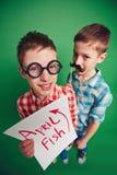 Día de humor Fotografía de archivo libre de regalías