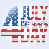 Día de Iindependence Fotografía de archivo libre de regalías