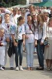 Día de independencia de Ucrania Imágenes de archivo libres de regalías