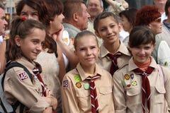Día de independencia de Ucrania Fotografía de archivo