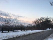 Día de invierno en Kiev Fotografía de archivo