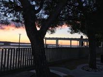 Día de invierno en Portorose Imágenes de archivo libres de regalías
