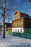Día de invierno en Suzdal, Rusia Fotografía de archivo
