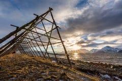 Día de invierno soleado en la costa foto de archivo libre de regalías