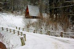 día de inviernos frío Foto de archivo
