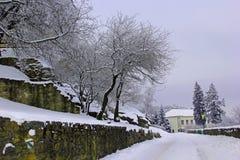 día de inviernos frío Imagen de archivo