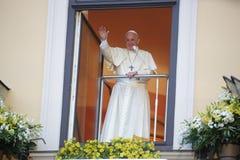 Día de juventud de mundo 2016 - papa Francisco imagen de archivo