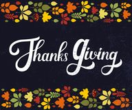 Día de la acción de gracias Fotos de archivo libres de regalías